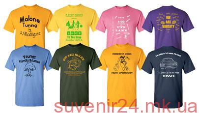Печать на футболках - Сувенир24