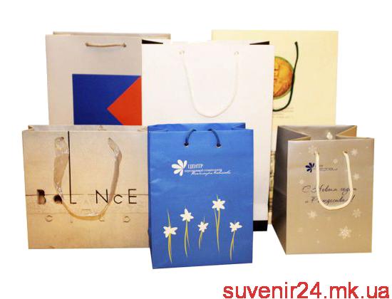 Изготовление пакетов с логотипом - Сувенир24
