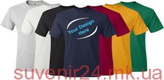 Заказать печать на футболках - Сувенир24