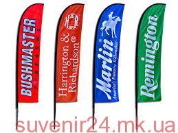 Заказать рекламные флажки - Сувенир24